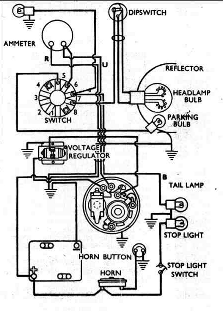 Basic Boat Wiring Schematic Wiring Diagram And Fuse Box